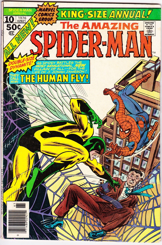 Amazing spiderman annual 10 1st series 1963 1976 marvel
