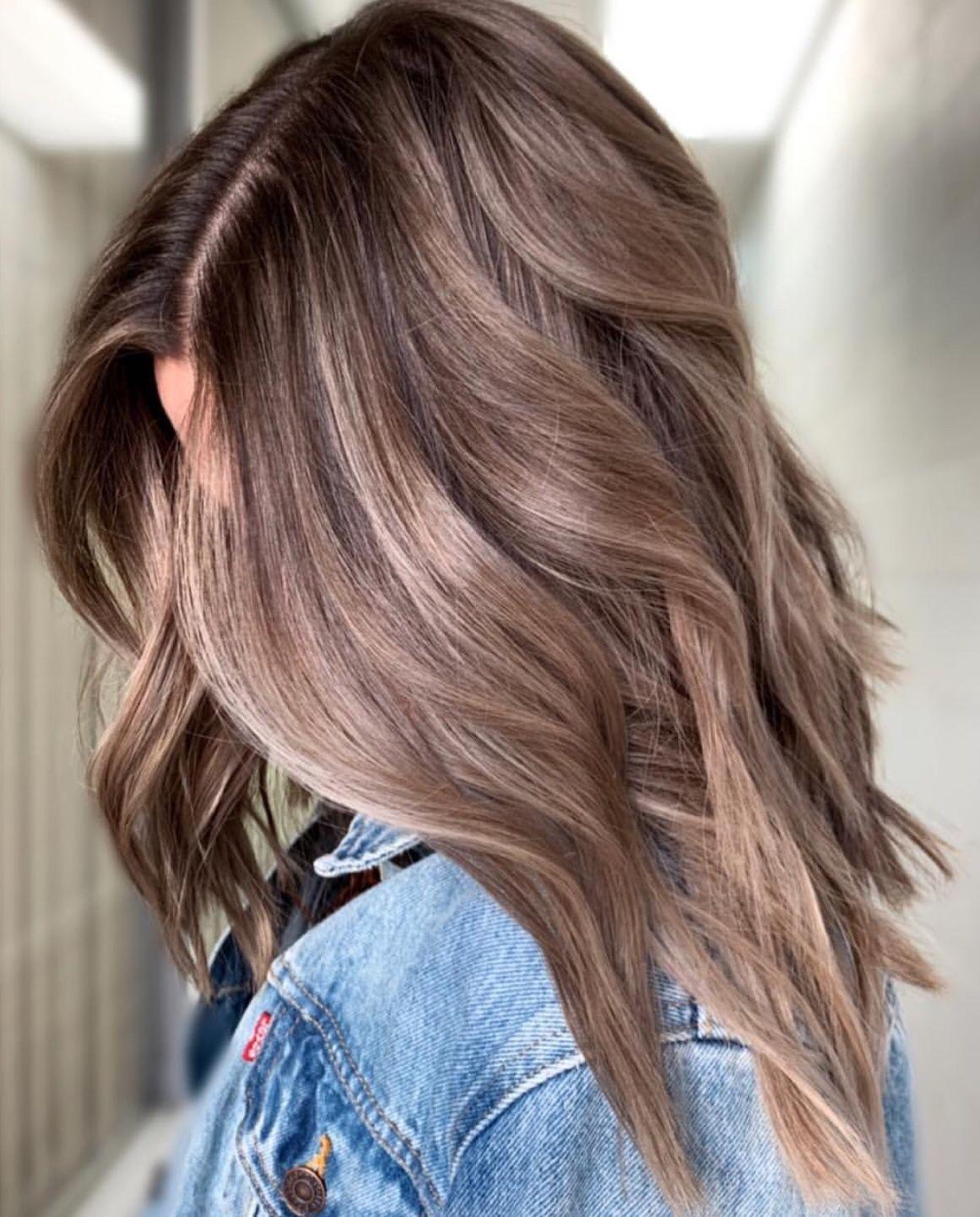 färga håret brunt