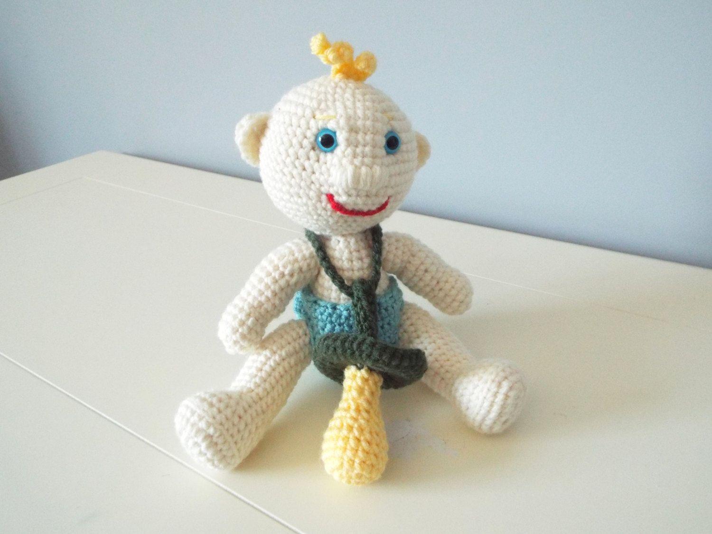 crochet baby doll stuffed toys amigurumi pacifier home decor baby