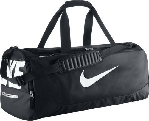 Nike Team Training Max Air Large Duffel Bag Black White Ba4892 001