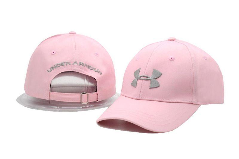 db3a7e5c42826 Men s   Women s Under Armour The UA 3D Embroidery Logo Adjustable Dad Hat -  Pink   Silver