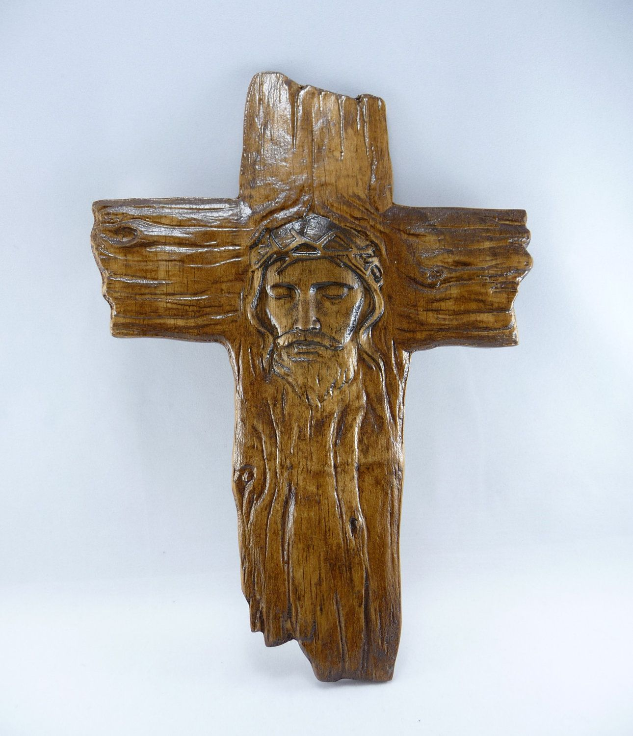 facial picture christ on cross