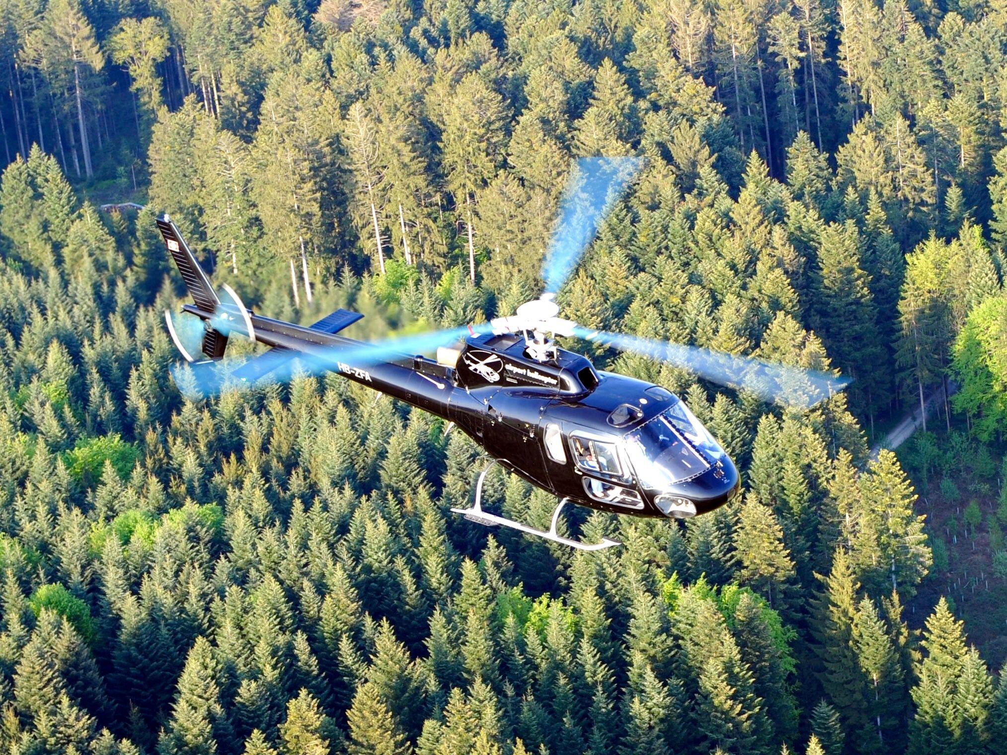Helikopterflug ab Zürich