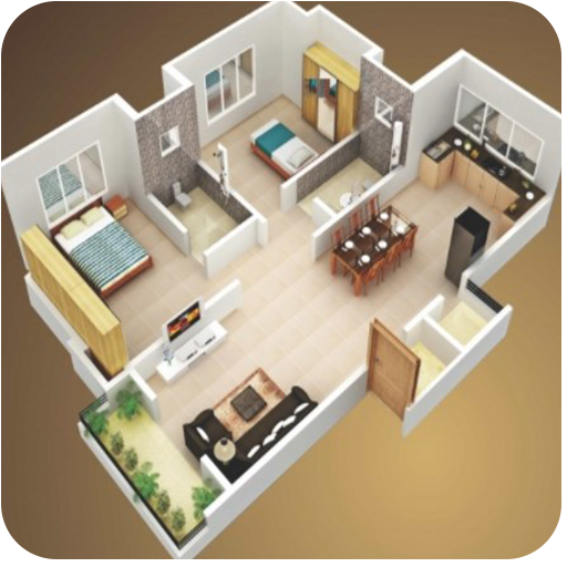 Free Download 3D House Plan Designs 1.4 APK