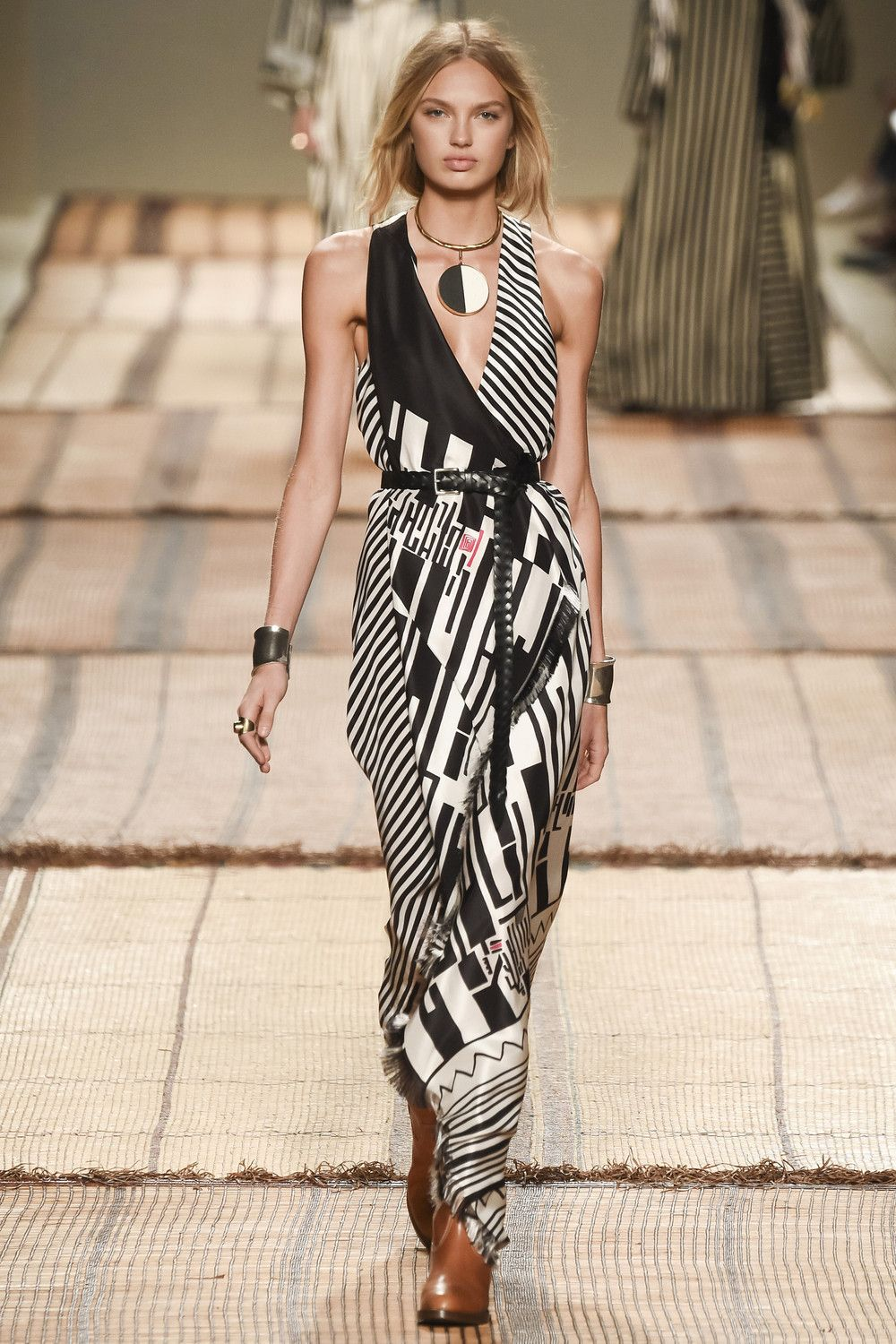 dress - Olympias charlotte new africa-inspired ss collection video