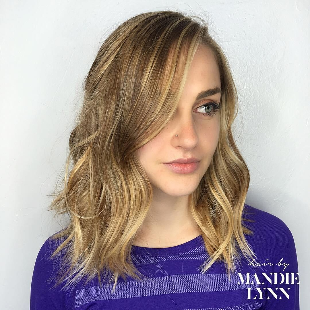 best hair colors for springsummer season golden blonde