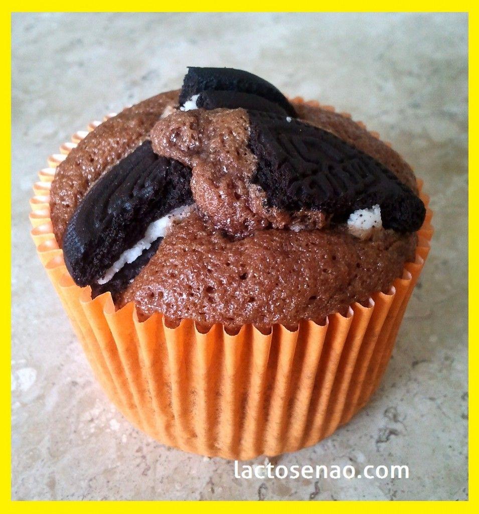 Lactose Free Cookies 'n cream Cupcake