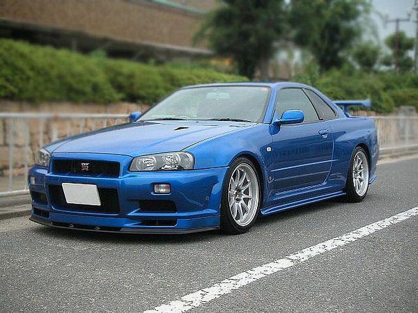 Nissan Skyline R34 GTR V Spec II N1 2003 - in my mind, the most