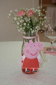 20 ideias variadas para festa da Peppa Pig #peppapig