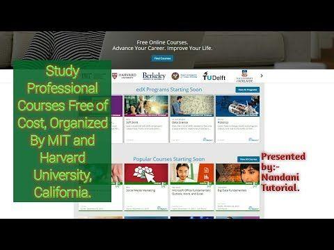 Online College Courses >> Edx Free Online Courses Free Courses Online Online Courses