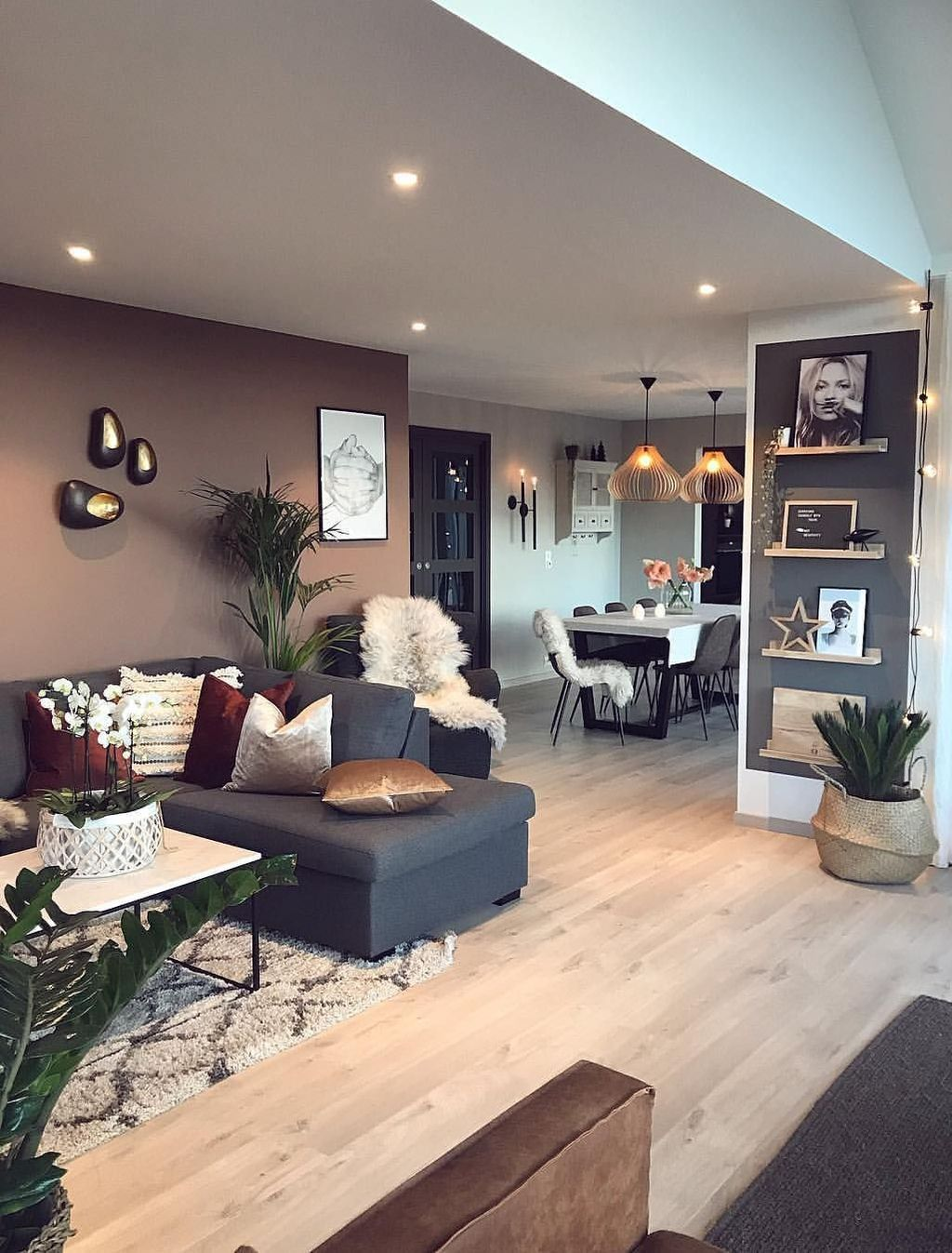 44 Stylish Industrial Style Living Room Designs Ideas