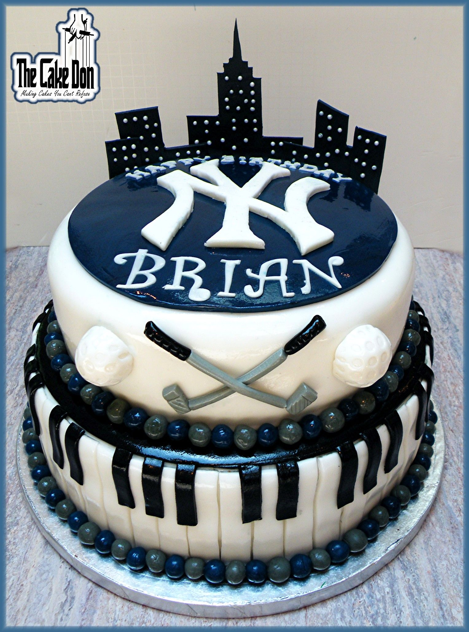 The Piano Playing Golf Nut Yankee Fan Who Loves Nyc Birthday
