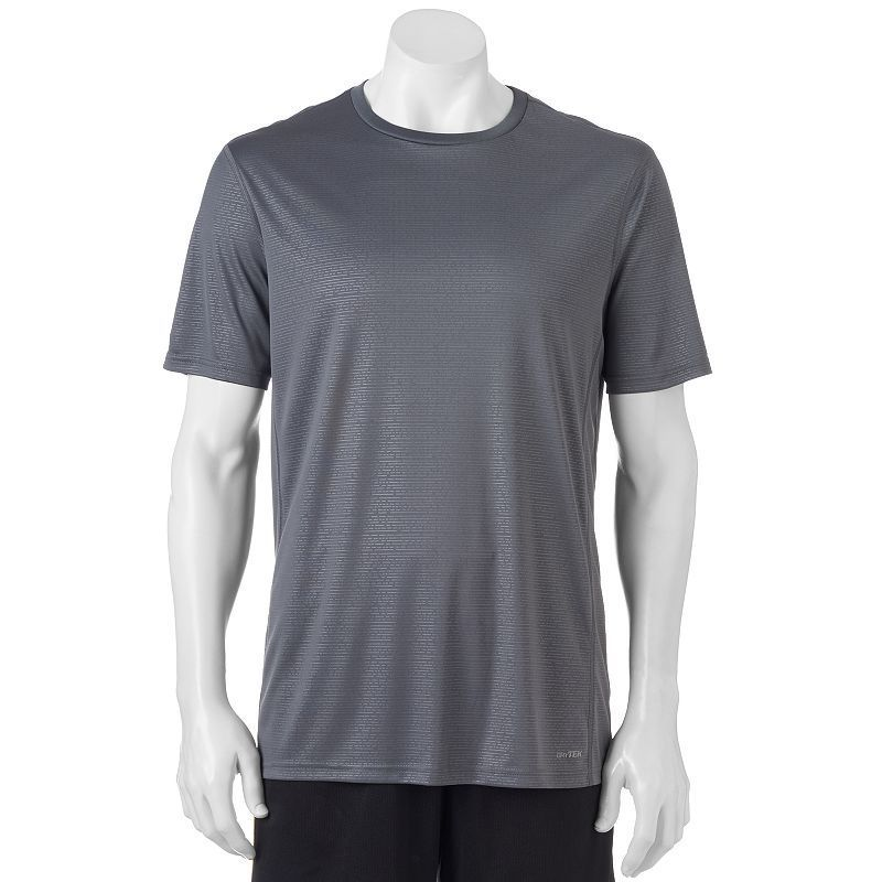 Big & Tall Tek Gear® Core Performance Tee, Men's, Size: Xl Tall, Dark Grey