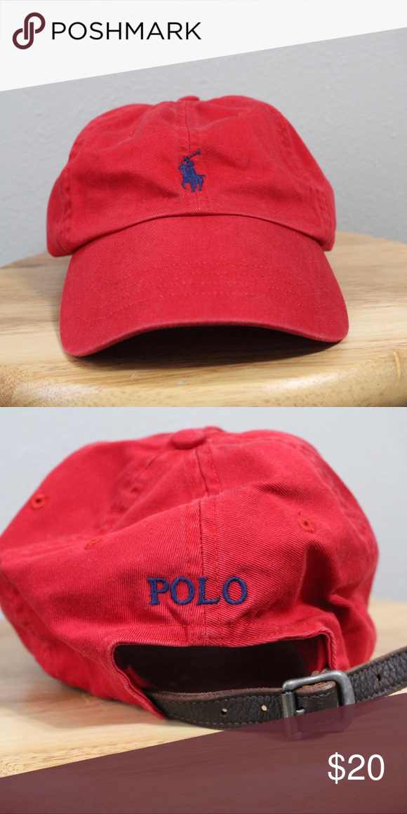 9e4efb6a0d836 Polo Ralph Lauren Strapback Hat Great condition 8 10 One size fits most All  sales final. Please contact with any questions or offers!!