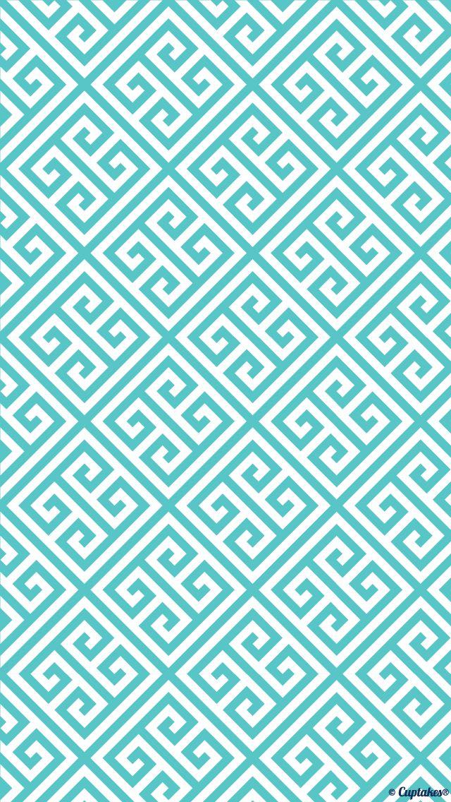 Square aztec blue wallpaper Wallpaper. Phone background ...