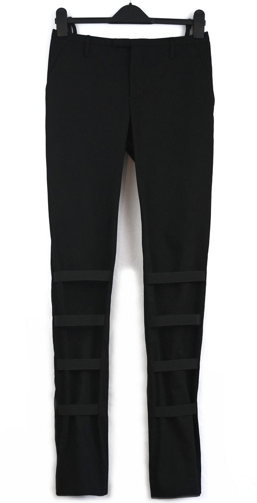 e188c62c3ff Helmut Lang bondage trousers from A W 2002-2003. in Italy. RRP   595 (£367)  The A W 2002 collection epitomises the high sophistication of Lang s final  years ...