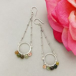 jewelry design ideas use our parts to make these lovely earrings www - Earring Design Ideas
