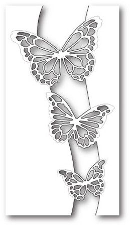Dizzy Butterflies Frame Steel Die Cut Memory Box Craft Cutting Dies animals