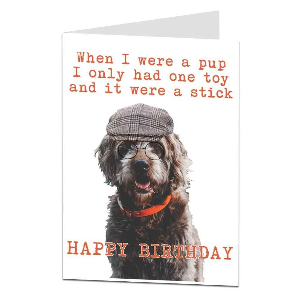 Happy Birthday You Old Dog Birthday Wishes Funny Dog Birthday Happy Birthday Dog