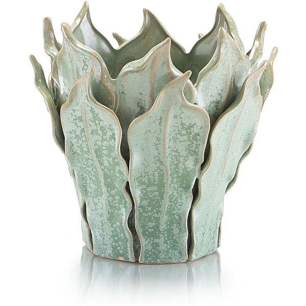 John Richard Small Fern Leaf Vase 96 Liked On Polyvore