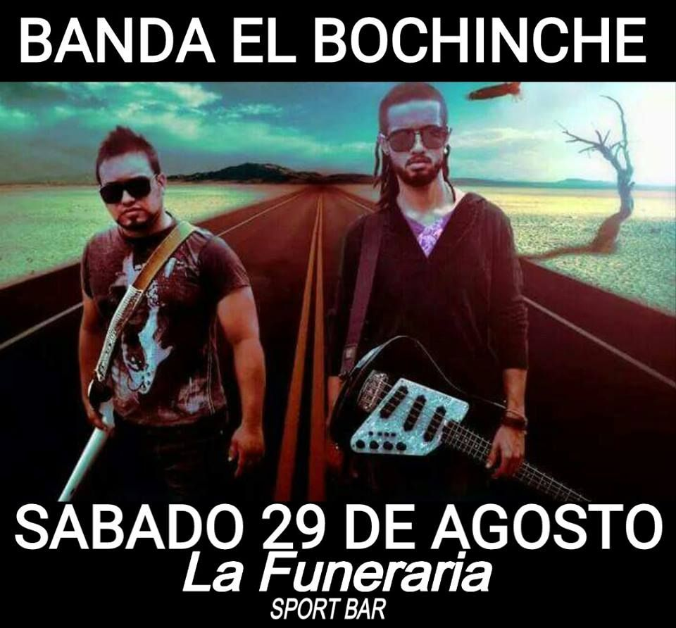 Banda El Bochinche @ La Funeraria Sports Bar #sondeaquipr #bandaelbochinche #lafunerariasportsbar #yauco
