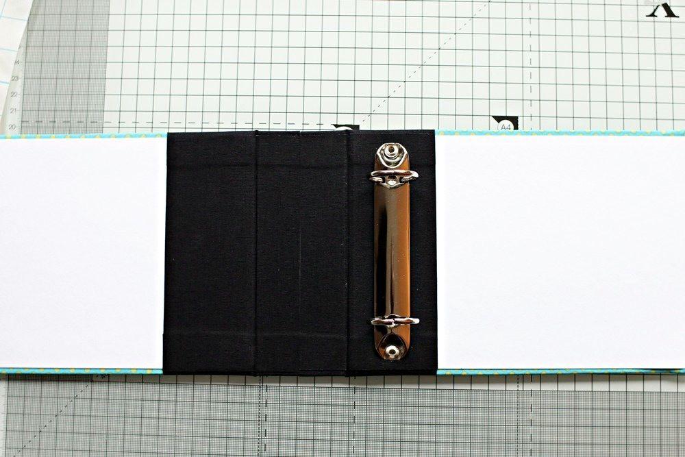Tutorial DIY Ringbuch Ringalbum selber bauen crafts - küchenkalender 2015 selbst gestalten