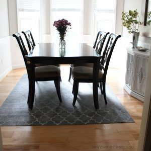 Square Dining Room Table Rug