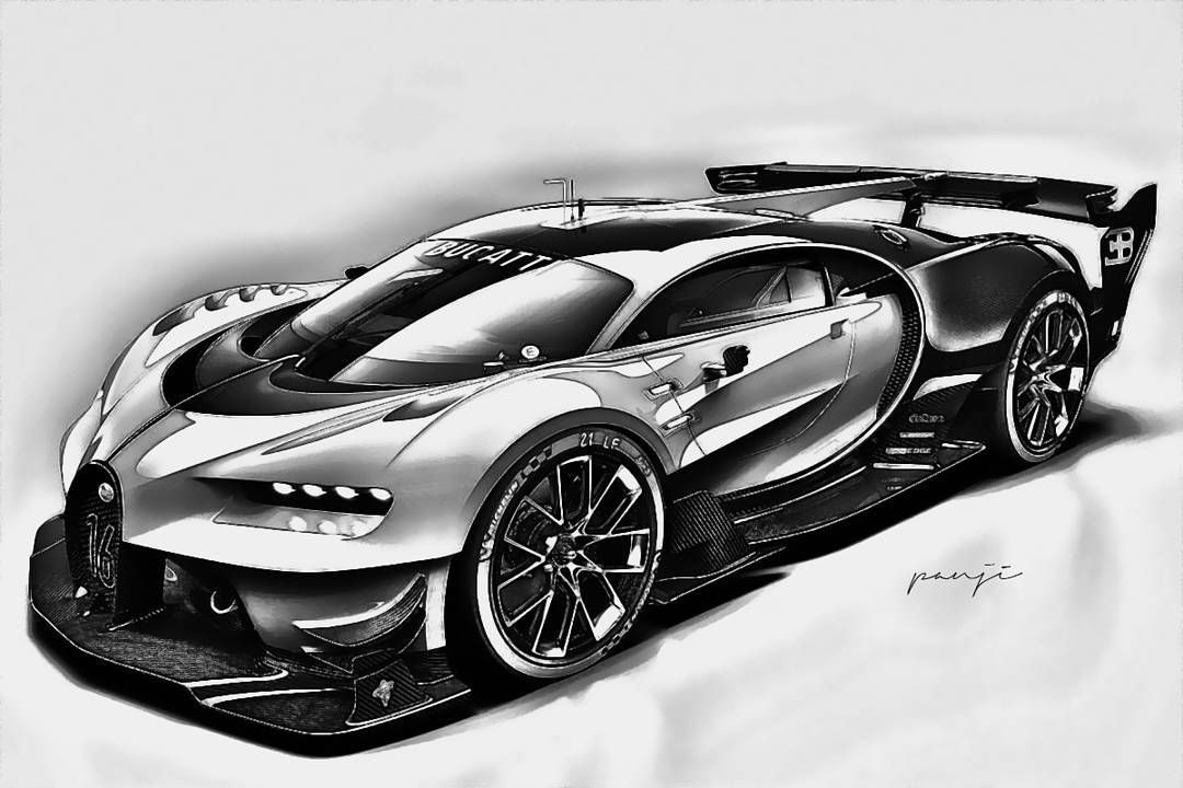 Pin By Meron Tesfazghi Black On How To Draw Bugati Chiron