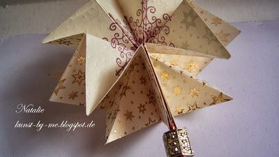 INKognito ~ Cards by Natalie: Pop-up Weihnachtsstern (pop-up ornament)