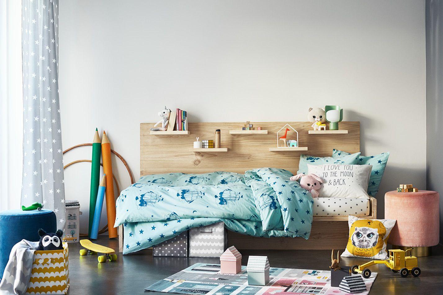 Leikkisiä vuodevaatteita, suloisia pehmoleluja, käytännöllisiä säilytyslaatikoita, värikkäitä mattoja – tutustu uuteen ihastuttavaan mallistoomme hm.comissa