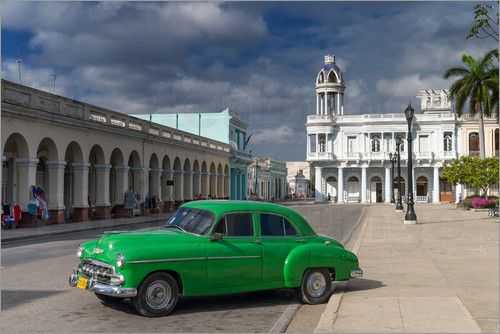Cuba Cars Bilder: Poster von Jürgen Klust bei Posterlounge.de