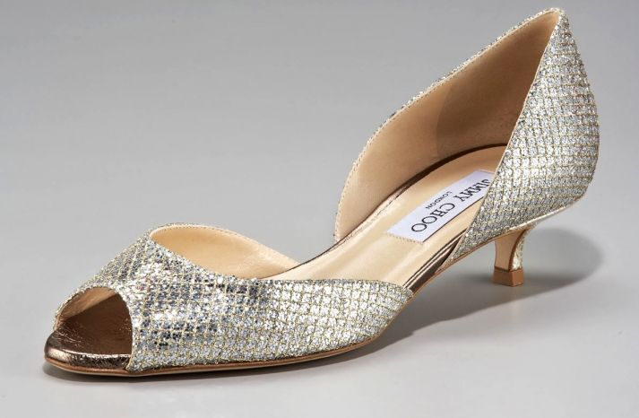 Beautiful Wedding Shoes For Vertically Blessed Brides Wedding Shoes Low Heel Jimmy Choo Heels Low Heel Shoes
