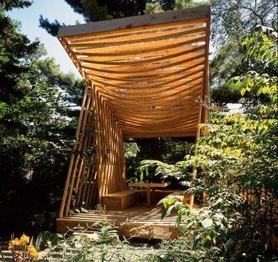 Bon Nice Wooden Garden Pavilion.
