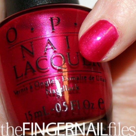 Discontinued Opi Nail Polish Colors: OPI Peru-B-Ruby (discontinued)