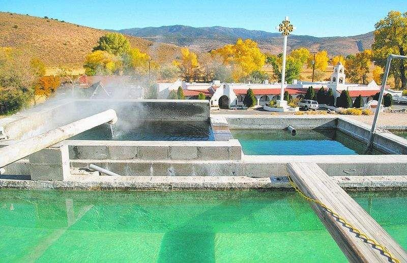 Reno Hot Springs Nevada Postcard