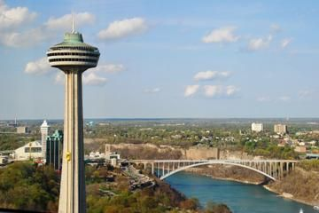 Skylon Tower #niagarafalls  Perfect Day In Niagara Usa Best Skylon Revolving Dining Room Decorating Design