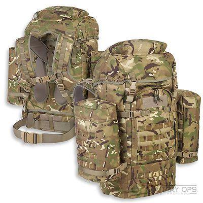 titan 120 litre bergen mtp multicam rucksack british army. Black Bedroom Furniture Sets. Home Design Ideas