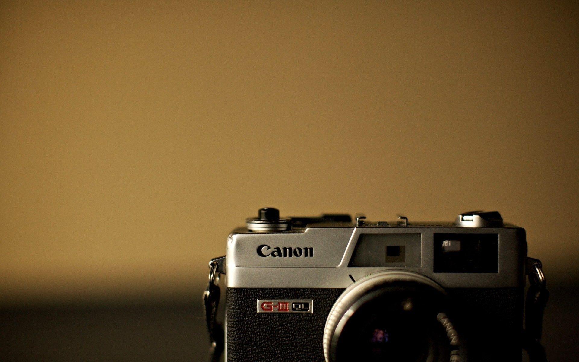 Download wallpaper retro, camera, canon, Canon free desktop ...