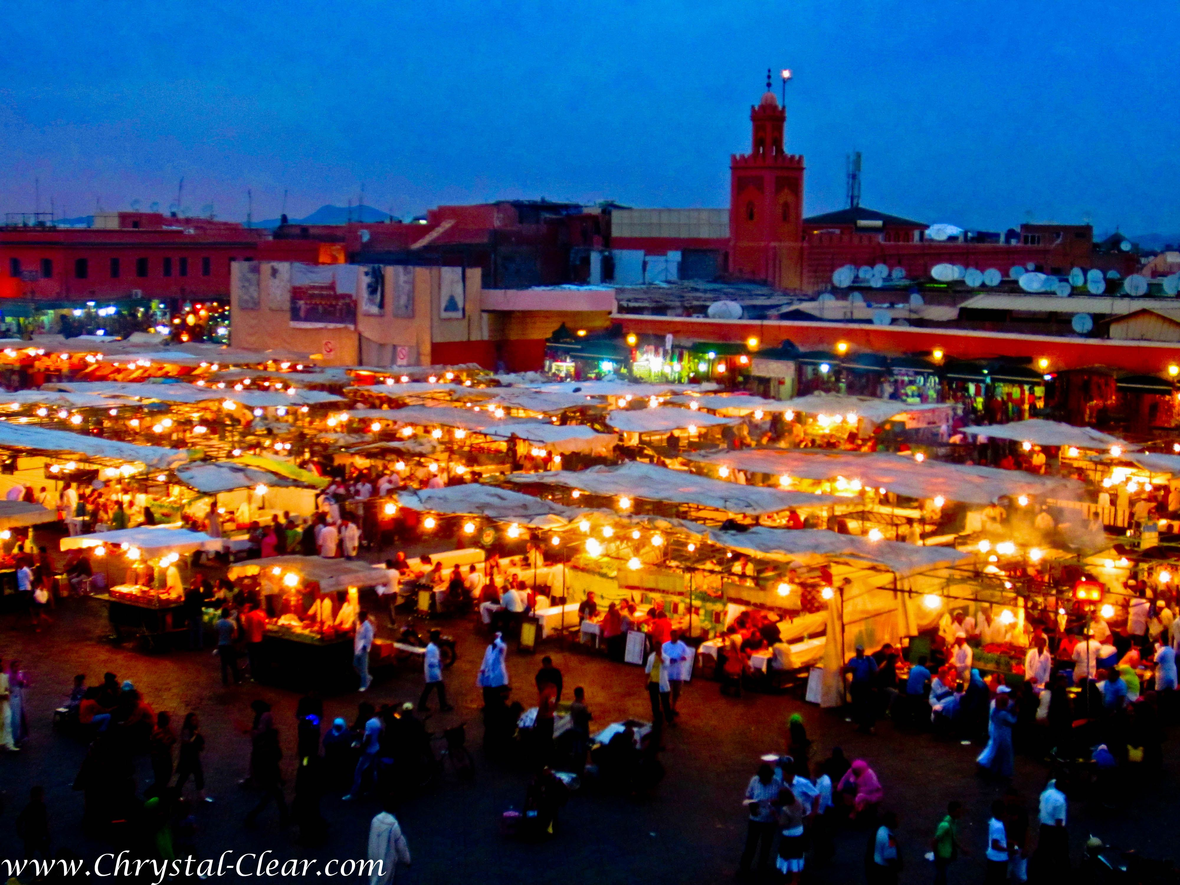 Morocco  Marrakech  Djemme El Fna