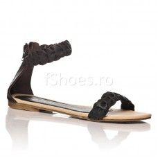 Sandale Alana - Negru