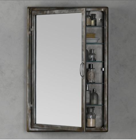 Bath Pharmacy Medicine Cabinet From Restoration Hardware Wall