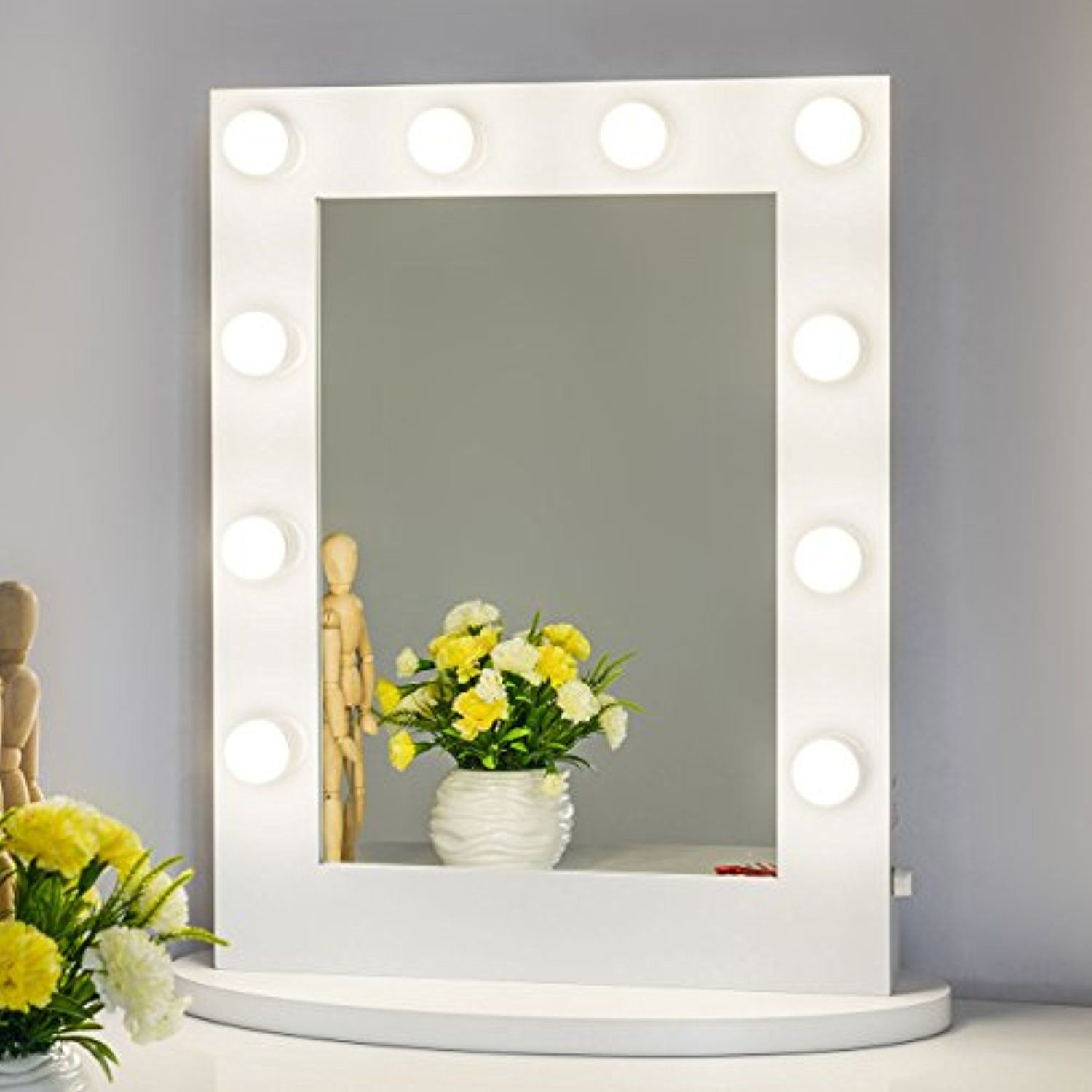 Chende SUMMER SALEï¼ ï¼ ï¼ Vanity Mirror with Light Hollywood Makeup ...