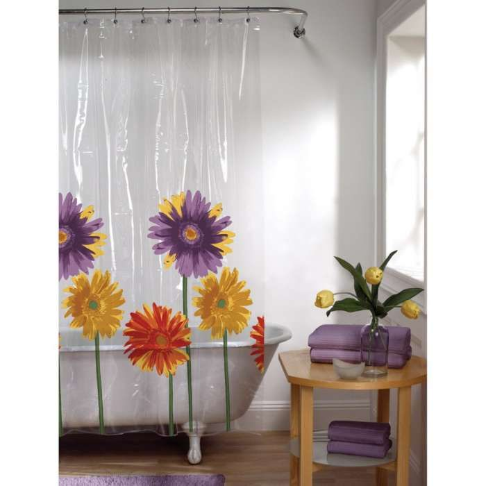 Rustic Daisies Shower Curtain By Daecu With Images Floral
