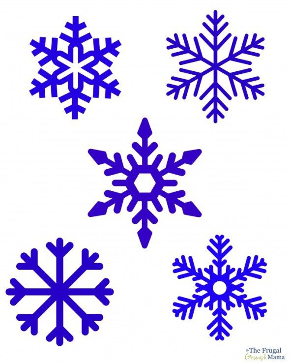 How To Draw A Snowflake From Frozen : snowflake, frozen, Create, Snowflake, Window, Clings, Homemade, Snowflakes, Drawing,, Template,, Simple