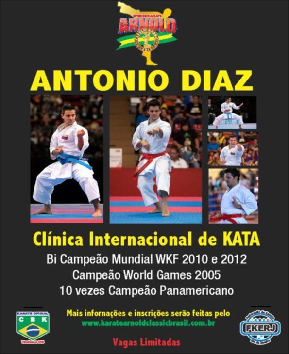 Antonio Diaz Clinica Internacional de Kata Rio de Janeiro – Arnold Classic Brasil 2013
