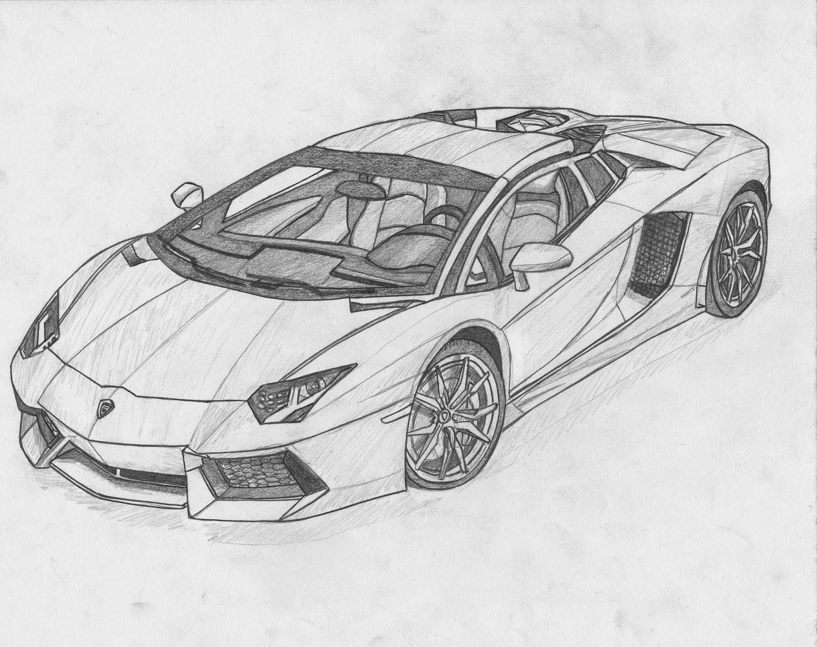 3d Object Pencil Drawing Book Pdf Lovely Image For Lamborghini Aventador Black And White Drawing Cool Car Drawings Car Drawings Car Drawing Pencil