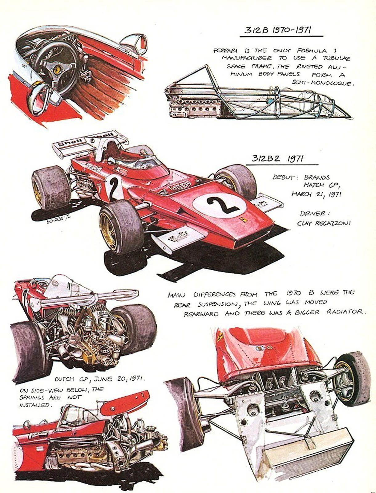 After yesterday's Lola T260 illustration post, KABay was kind enough to point us to this treasure trove of Werner Bührer's illustrations of racing cars for Powerslide Magazine (and repu…