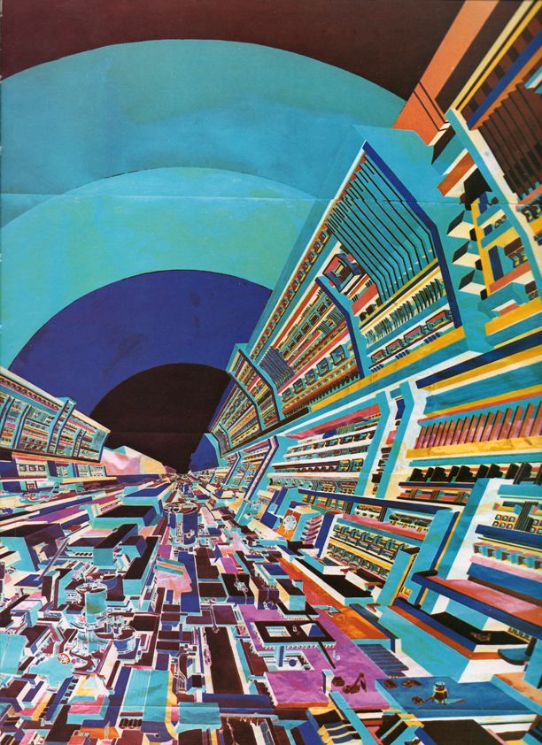 Dipinti Di Romano Botti La Città Futura I Miei Dipinti La