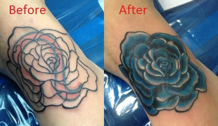 Tattoo Cover Up Before And After - Google Search