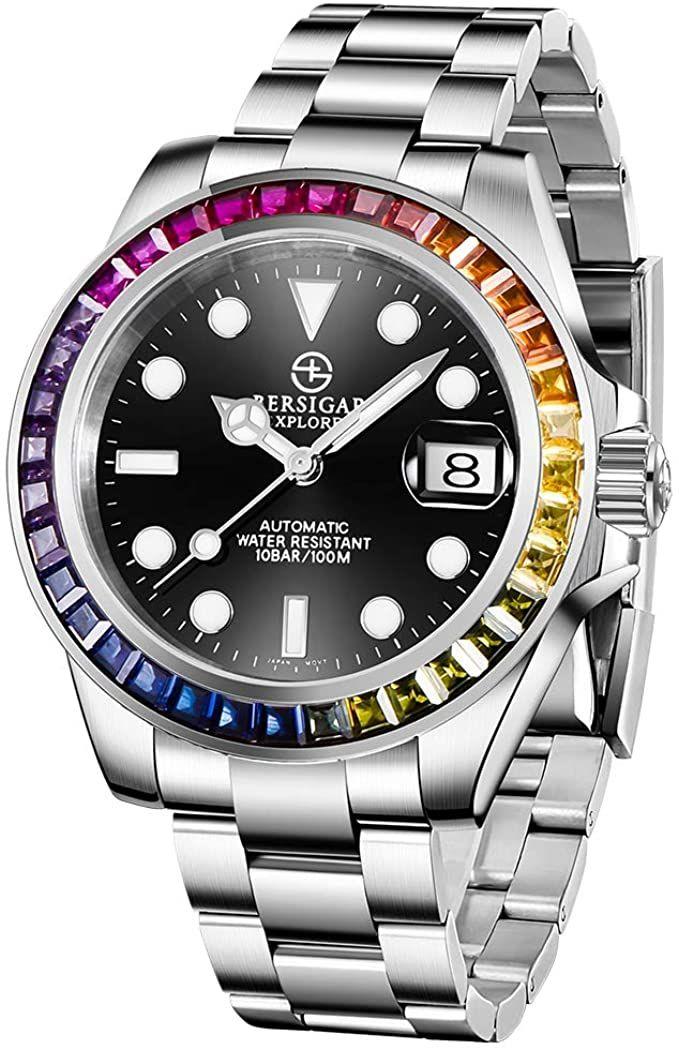 Bersigar Hommes Montres Automatique Montre Bracelet Mecanique En Acier Inoxydable In 2021 Vintage Rolex Rolex Watches Womens Watches
